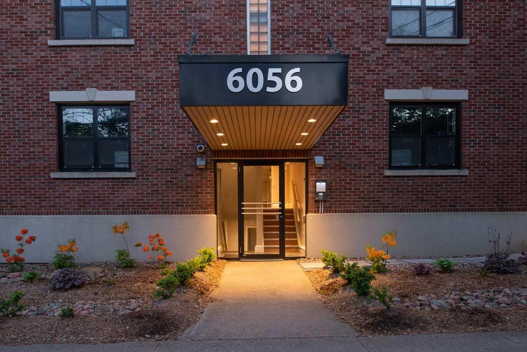 6056 South Street main entrance