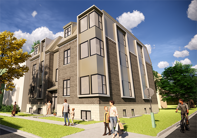 5726 Inglis Street Apartment Building